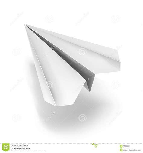 White Origami - white origami plane royalty free stock photography image