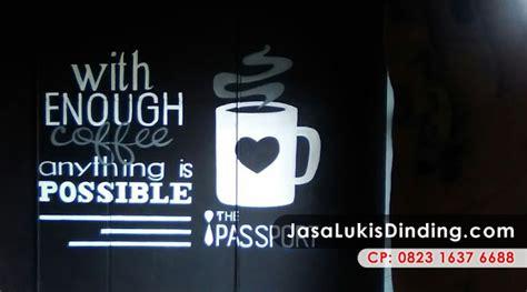 gambar dinding cafe keren  unik