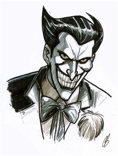 sketch of tattoo art joker the joker by bigchrisgallery on deviantart