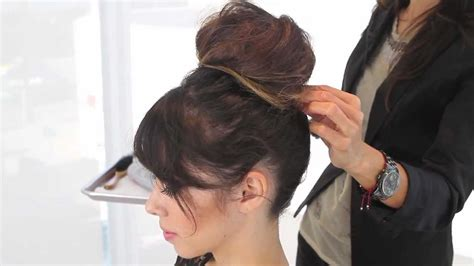 hairstyles to do quickly how to do a quick and easy updo for parties youtube