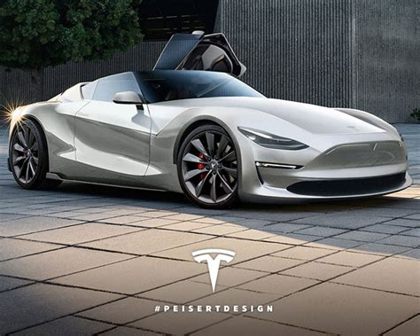 2019 Tesla Roadster P100d by What The 2019 Tesla Model S P100d Roadster Could Look Like