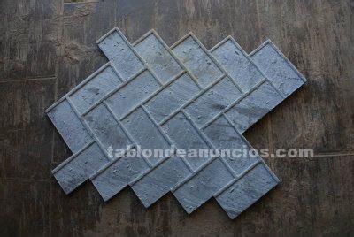 moldes hormigon impreso segunda mano tabl 211 n de anuncios com moldes para hormigon impreso de