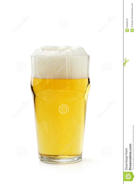 white pint pint of lager royalty free stock images image 34639379
