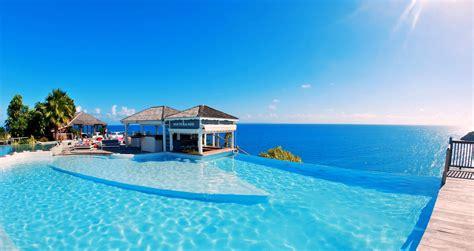 tropical travel resort sea summer pool palm trees
