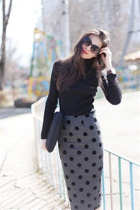 im grey and edgy 49 pencil skirt outfits that will make you look like a