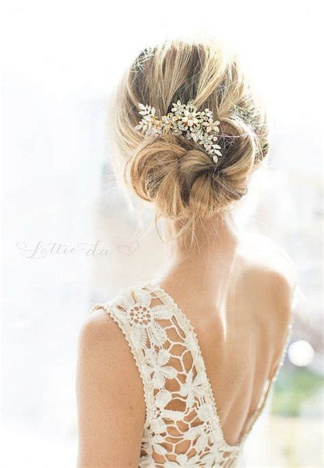 Wedding Hairstyles Combs 30 chic vintage wedding hairstyles and bridal hair