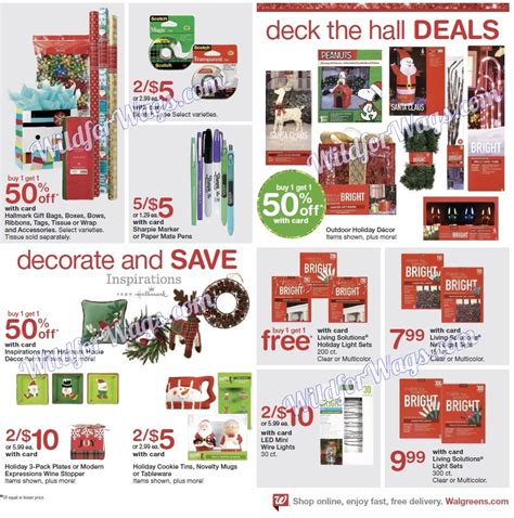 Walgreens Monthly Sweepstakes - walgreens ad scan black friday 11 24