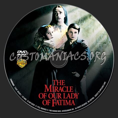 The Miracle Of Our Of Fatima Free The Miracle Of Our Fatima Dvd Label Dvd Covers Labels By Customaniacs Id 157536 Free