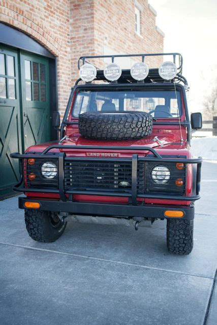 electric and cars manual 1994 land rover defender interior lighting 1994 land rover defender 90 nas sport utility 3 8l manual for sale photos technical