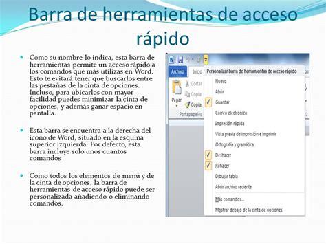 barra superior word microsoft office word ppt video online descargar