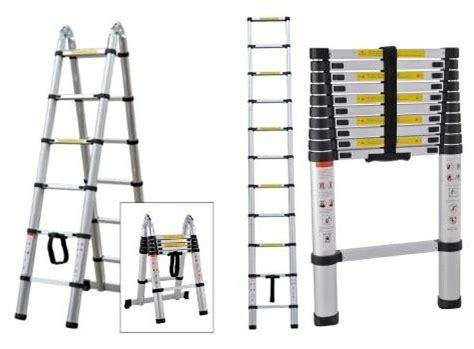 Tangga Teleskopik Lipat 5 Meter 5 Meter Telescopic Alumunium tangga teleskopik tangga aluminium gratis ongkos kirim