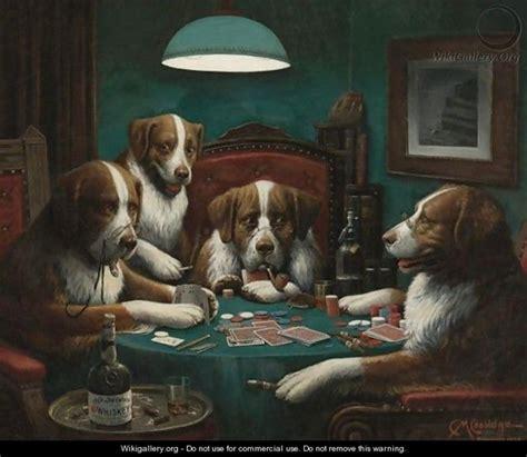 gioconews poker il dipinto  coolidge dei cani che giocano  poker venduto  mila dollari