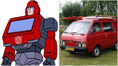 nissan vanette ironhide transformers 191 qu 233 autos simbolizaron a los autobots