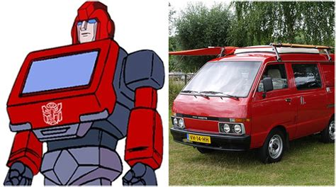 nissan vanette ironhide the transformers 10 autos que representaban a los autobots