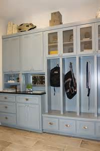 Grey Cabinets Kitchen Painted Laundry Mud Room Burrows Cabinets Central Texas