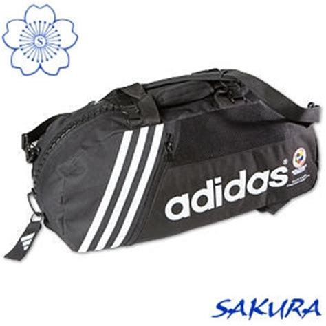 Sportbag Adidas Logo martial arts gear bag karate sports bag backpack adidas wkf approved