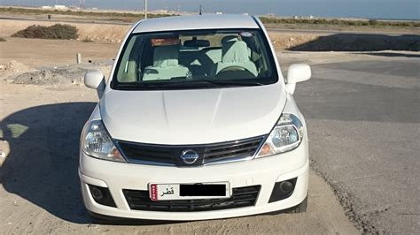nissan tiida white excellent condition nissan tiida tida 2013 white 51000km