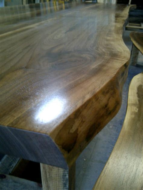 Wood Slab Bar Top by Wood Counters Live Edge Slab Wood 2015 Home