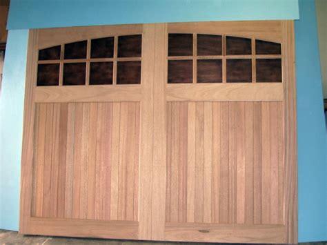Clingerman Builders Custom Wood Garage Doors Gallery Wood Garage Door Builder