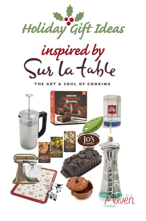 kitchen christmas gift ideas holiday gift ideas from sur la table and kitchen aid i
