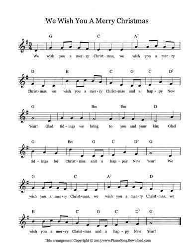 merry christmas  christmas lead sheet  piano song  piano lead