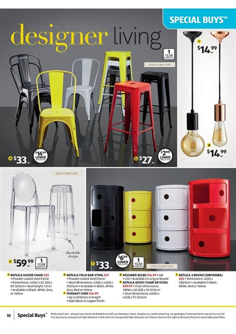aldi bar stools aldi special buys week 28 sale on 8 11 july 2015 page 10