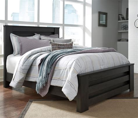 ashley poster bed ashley signature design brinxton queen poster bed in charcoal finish dunk bright