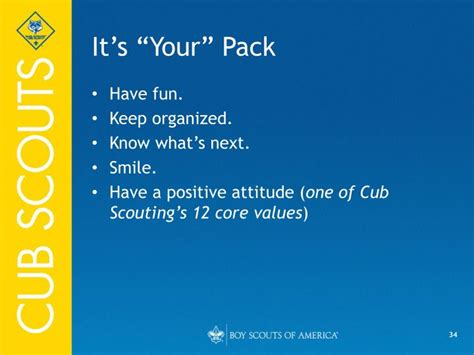 cub scout powerpoint template ppt the cubmaster powerpoint presentation id 827125