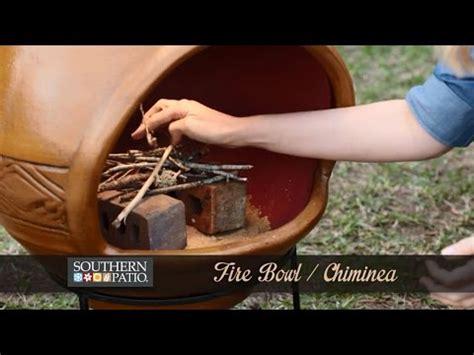 how to use a chiminea how to use a chiminea youtube
