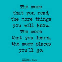 Filed under dr seuss travel book reading quotes book quotes
