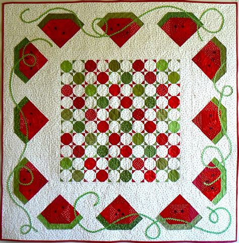 placemats watermelon for summer i have a round table this would 124 best watermelon applique quilt patterns images on