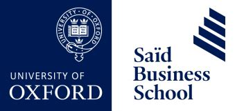 Said Oxford Mba Fees by Oxford Mba At Sa 239 D Business School