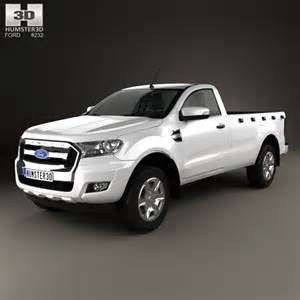ford ranger single cab xl 2015 3d model humster3d