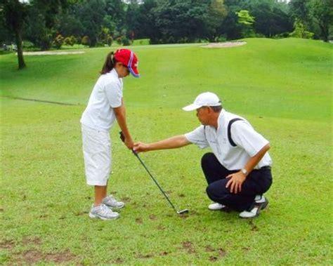 learning golf swing children golf