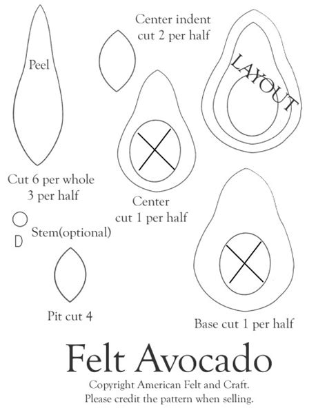 Felt Food American Felt Craft Blog Free Phlet Templates Microsoft Word