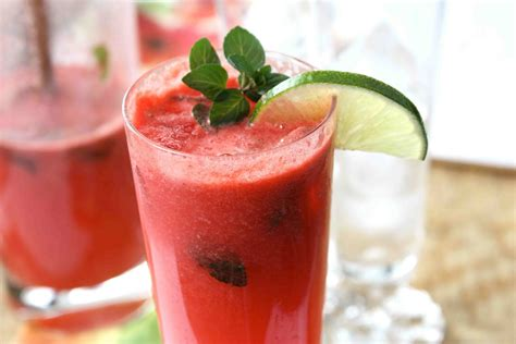 watermelon mojito watermelon mojito recipe dishmaps