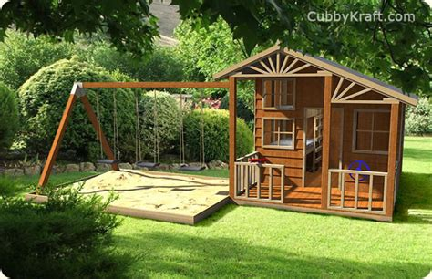 swing house alpine cubby house swing playground equipment by