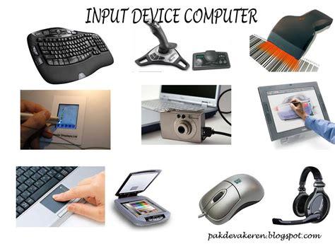 Pengertian Input Device (Unit Masukan) Komputer dan Macam