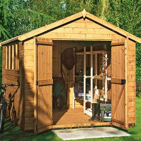 wooden garden sheds build   shed blueprints