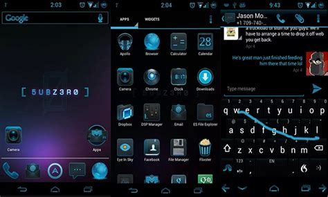 zero themes for android phones top 10 best cyanogenmod themes for android