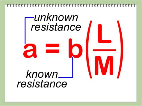 unknown resistor calculator how to calculate the resistance of an unknown resistor 28 images how to calculate unknown