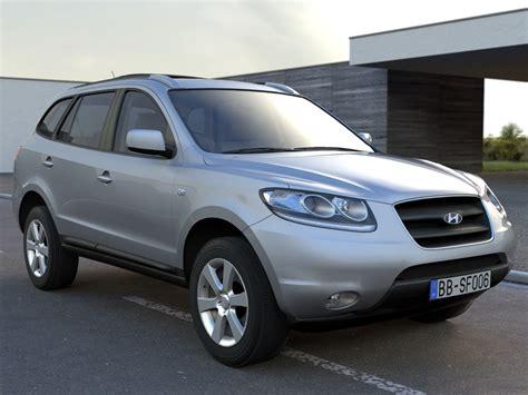 2006 hyundai models hyundai santafe 2006 3d model minivan veracruz 3ds max
