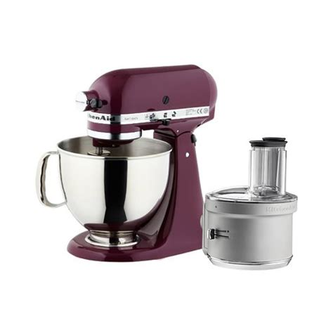Artisan KSM150 Stand Mixer Boysenberry w/ Food Processor Att
