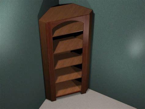 corner oak cabinet mission furniture audio stereo dvd hifi