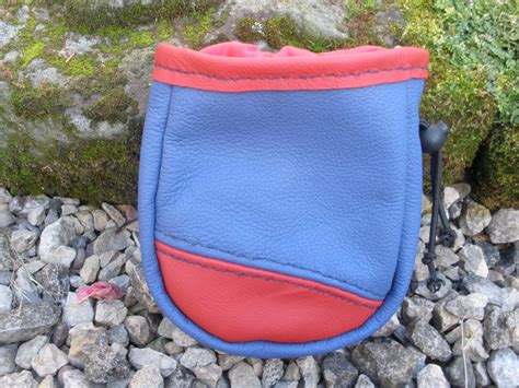 Handmade Chalk Bag - handmade leather chalk bag pouch by doukeshi03 on deviantart