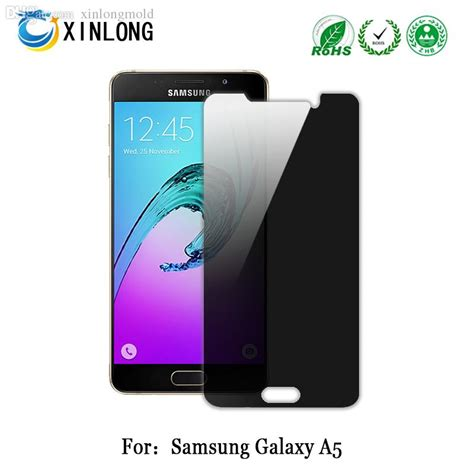 Samsung A510 2016 Tempered Glass Clear 03mm for samsung galaxy a510 a5 2016 privacy tempered glass