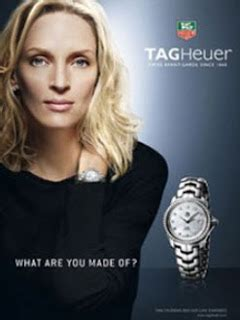 Uma Thurman And Tag Heuer Exclusivity Style And Success by Interwatches January 2010