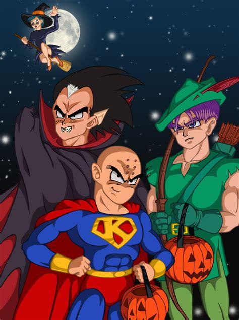 imagenes de dragon ball z halloween dbz halloween by narusailor on deviantart