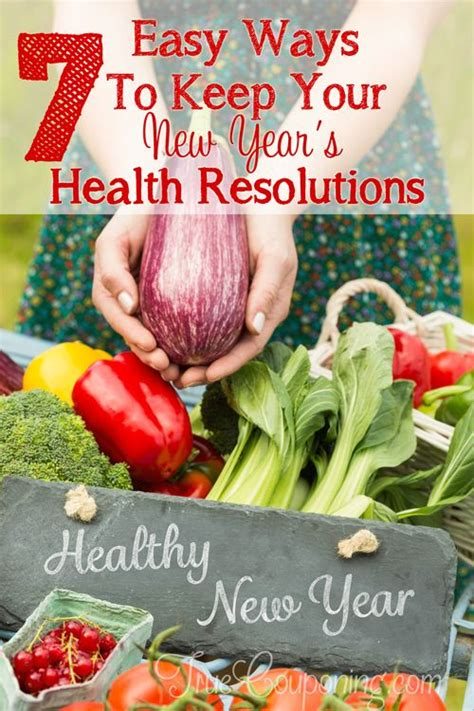 7 New Years Resolutions I Now To Keep by 7 Easy Ways To Keep Your New Years Health Resolutions