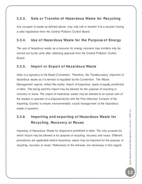 Mba Project Report On Labour Laws by Solid Industrial Waste Management Mba Project Report